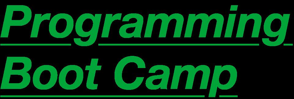 programming boot camp